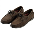 Gill  Baltimore 2 Eyelet Deck Shoe - Dark Brown Nubuck