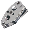 RWO Stainless Steel 25mm Vang Single Block with V Jammer