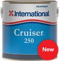 Cruiser 250 Antifoul Paint by International