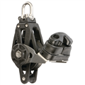 Holt Plain Bearing 45mm Single Swivel Block with Cleat & Becket