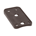 Barton Marine Curved Backing Plate for Size 3 Cheek Block