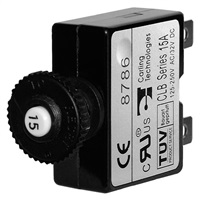 Blue Sea Systems Push Button Circuit Breaker