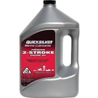 Quicksilver Premium 2 Cycle TCW3 Outboard Oil