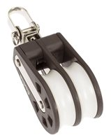 Barton Marine Size 3 Double Block with Swivel 03230