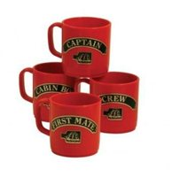 Nauticalia Unbreakable Stackable Mugs