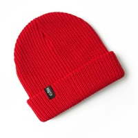 Gill  Floating Knit Beanie  (Option: Red)