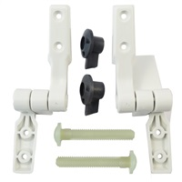 Jabsco Replacement Hinges for Compact Toilet