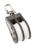 Barton Marine Size 4 Double with Swivel 58mm Block 04230