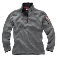 Gill  Men's Knit Fleece - Grey