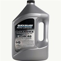 Quicksilver 4 Stroke SAE 25W-40 Synthetic Blend Engine Oil