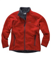 Gill  Mens Polar Fleece Jacket - Red