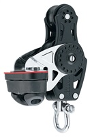 Harken 2657 Carbo 40mm Fiddle Block — Swivel, Cam Cleat
