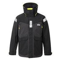 Gill  OS24 Offshore Sailing Jacket (Options: Black Graphite - Medium, Black Graphite - Large, Black Graphite - XL)