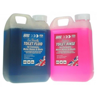 Maypole Toilet Fluid and Rinse (Twin Pack)