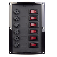 Talamex 6 Switch Vertical Panel (Fused)