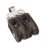 Barton Marine Size 0 Double Fixed Eye 20mm Block 00210