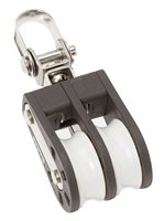 Barton Marine Size 1 Double with Swivel 30mm Block 01230