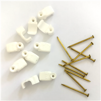 Holt 7mm Flat Cable Clips