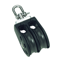 Barton Marine Size 2 Double with Swivel 35mm Block 02230