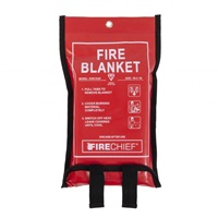 Fire Chief Fire Blanket - Soft Case