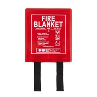 Fire Chief 1m x 1m Fire Blanket - Rigid Box