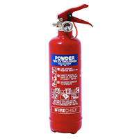 Fire Chief ABC Powder Fire Extinguisher