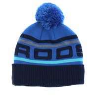 Rooster Recycled Knit Beanie (Option: Signal Blue)