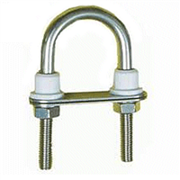 Seasure Stainless Steel U Bolt with plate