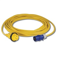 Marinco 16amp 230V Extension Lead 15M c/w Mains Site Plug