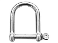 Talamex Stainless Steel Wide Pin D Shackle