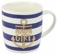 Nauticalia Nauti Girl Mug China