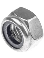 Holt Stainless Steel Nyloc Nuts