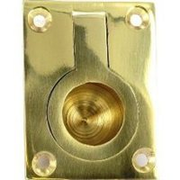Holt Brass Flush Ring Pull