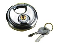 Talamex Stainless Steel Discus Padlock