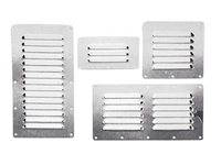 Stainless Steel Grill Vent by Talamex