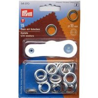 Prym Eyelets with washers 11mm