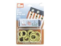 Prym 14mm Brass Eyelets