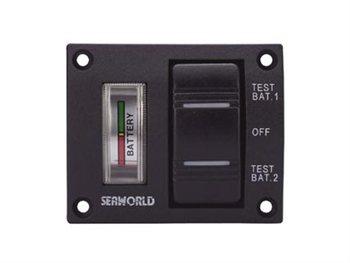 Talamex Seaworld Battery Test Switch Panel