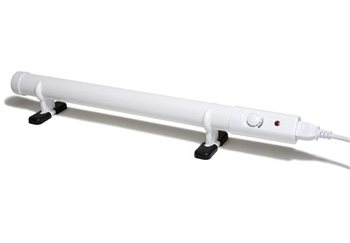 Hylite Slimline Tube Heater with Thermostat  - Click to view larger image
