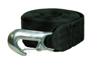 Kingfisher Ropes Webbed Winch Strap  - Click to view larger image