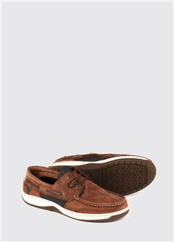 Dubarry Regatta Whiskey Deck Shoes