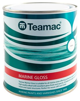 Teamac Marine Gloss - Supermarine White  - Click to view larger image