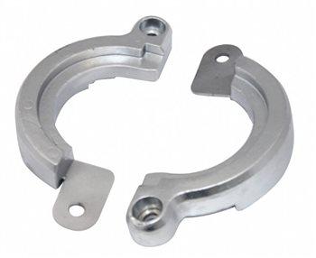 Tecnoseal Yanmar Saildrive Split Zinc Anode  - Click to view larger image
