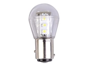 Talamex LED Navigation Light Bulbs with Offset Pins BAY15D  - Click to view larger image