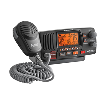 Cobra MR F57 Fixed Mount VHF Marine Radio  - Click to view larger image