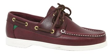 Dubarry Admiral Deck Shoes - Burgundy  - Click to view larger image