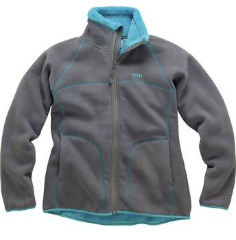 Gill  Ladies Polar Fleece Jacket - Bright Aqua  - Click to view larger image