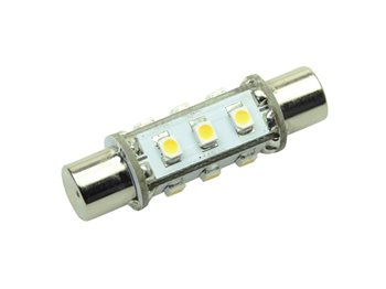 Talamex 12 LED Festoon Bulb 42mm  - Click to view larger image