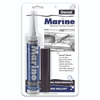 Geocel Marine Silicone Rubber Sealant  - Click to view larger image