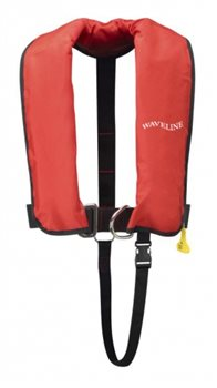 Waveline Childern's 150N Automatic with Harness Life Jacket  - Click to view larger image